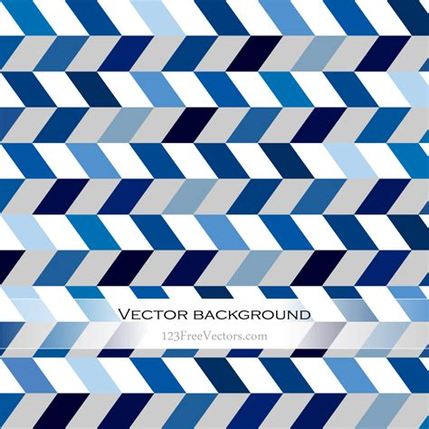 Chevron Blue Background by Abstract Blue Chevron Background Free Vector