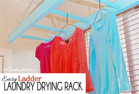 easy ladder laundry drying rack