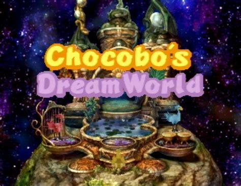 babyzimmer dreamworld 2 ix chocobo and cold