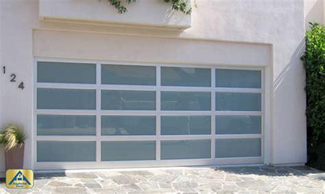 Gorgeous Modern Glass Garage Doors With Custom Exterior