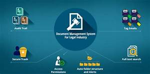 Legal document management system file handling software for Legal documents management