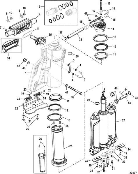 mercury marine  hp verado  stroke  cylinder power