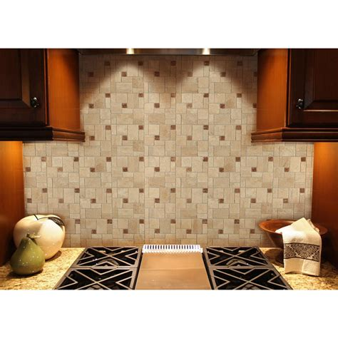 peel and stick tile ceramic tile instant mosaic peel and stick tile ebay