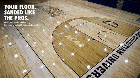 courtsports services basketball court sanding