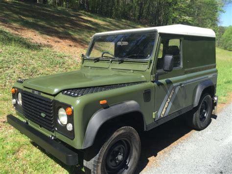 range rover defender 1990 1990 land rover defender 90 rhd uk import