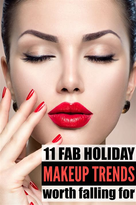 holiday makeup looks we love 11 trends we re falling for