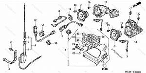 Honda Motorcycle 2001 Oem Parts Diagram For Radio