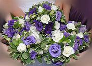 Periwinkle Wedding Flowers