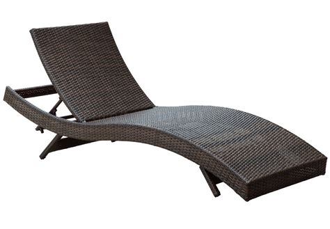 Peer Outdoor Patio Chaise Lounge Choice Of Color By Modway