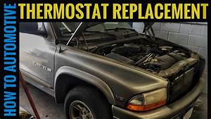 How To Replace The Thermostat On A 1998-2003 Dodge Durango