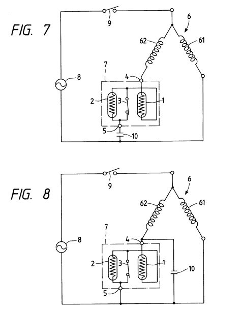 patent ep0590592a1 motor starting relay device