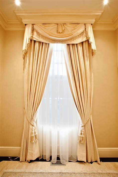 Elegant Interiors   luxury curtain ideas