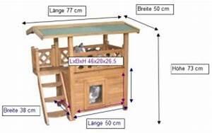 Katzenhaus Selber Bauen : katzenhaus outdoor kaufen kerbl katzenhaus lodge im ~ A.2002-acura-tl-radio.info Haus und Dekorationen