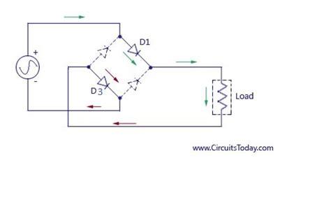 full wave rectifier bridge rectifier circuit diagram