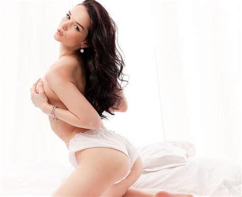 Wallpaper Jenya D Ass Eugenia Dior Panties Holding