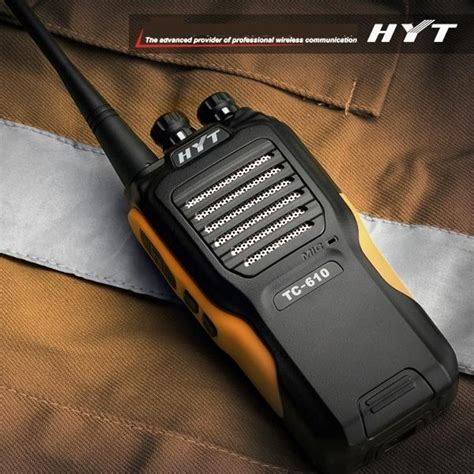 talkie walkie longue portee 100 km talkies walkies hyt t 233 l 233 phonie professionnelle