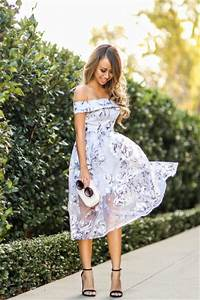 2015 most stylish ideas wedding guest outfit celebrity With floral dress wedding guest