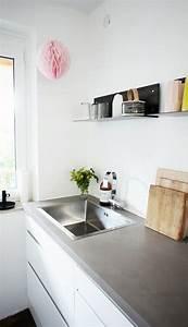 Arbeitsplatte Küche Beton : arbeitsplatte aus beton cire k che esszimmer k che und ~ Watch28wear.com Haus und Dekorationen