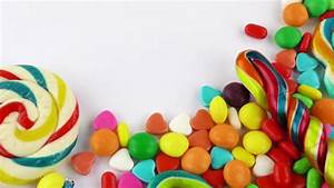 Colorful Candy And Jelly Lollipop And Bonbon Mixed Sweet ...