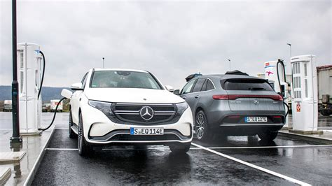 Though to be fair, it's built on the same production line has the glc suv and it shares some of its parts. 2020 Mercedes-Benz EQC 400 4Matic Review: The First Luxury Electric Car - The Drive