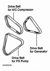 2003 Toyota Tacoma Serpentine Belt Routing And Timing Belt Diagrams