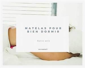 Que Faire Pour Bien Dormir : matelas pour bien dormir un bon matelas pour un sommeil de qualit ~ Melissatoandfro.com Idées de Décoration
