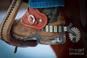 Cowboy Spurs Photograph by Inge Johnsson