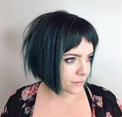 chic choppy bob hairstyles