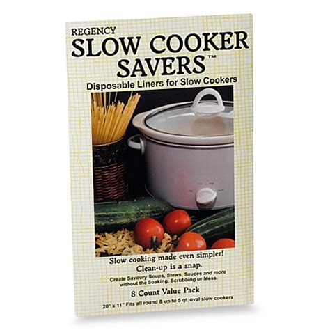 slow cooker liner pack bed liners beyond bath bedbathandbeyond refrigerator zip cookers kitchen multi careers employment exploring larger