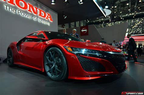 Geneva 2018 Honda Nsx