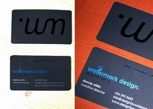 Watermark design business cards for Watermark business cards