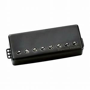 Seymour Duncan Nazgul 8 String Passive Mount Bridge Black