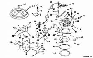 Johnson Ignition Parts For 1994 30hp J30elerm Outboard Motor