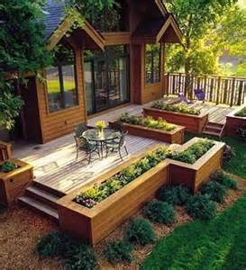 Pictures Of Raised Decks by How To Build The Deck Of Your Dreams Raised Garden Beds