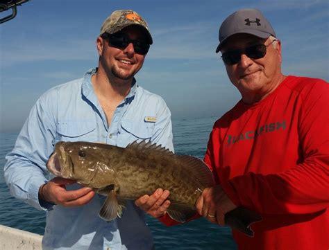tampa bay maria fishing anna december grouper island captain