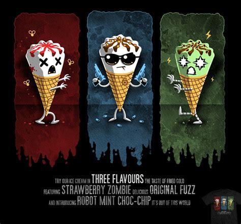 cornetto blood  ice cream trilogy wiki fandom