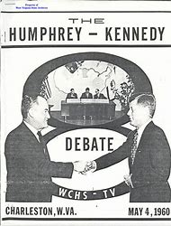 Image result for image kennedy humphrey debate