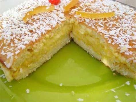 cheesecake hervé cuisine recette du gâteau léger des îles ananas coco vanille
