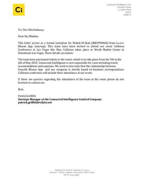 Invitation letter swachhbharatapp