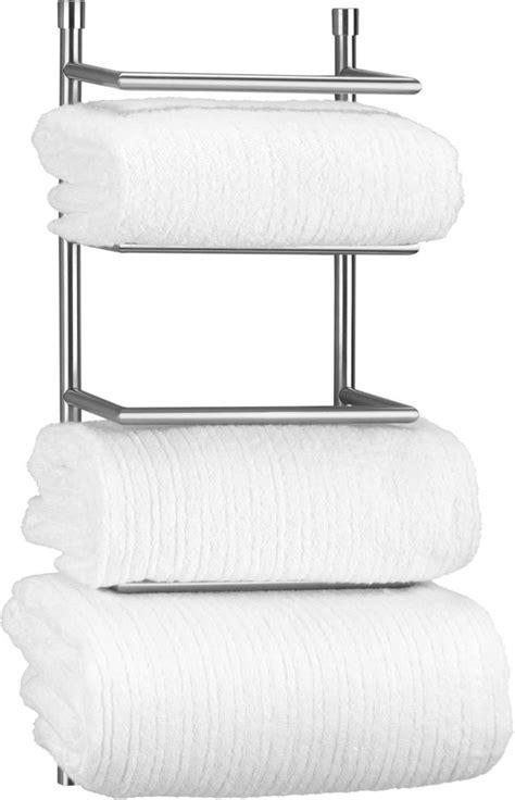 Bathroom Towel Rack Shelf Wall Mounted  My Web Value