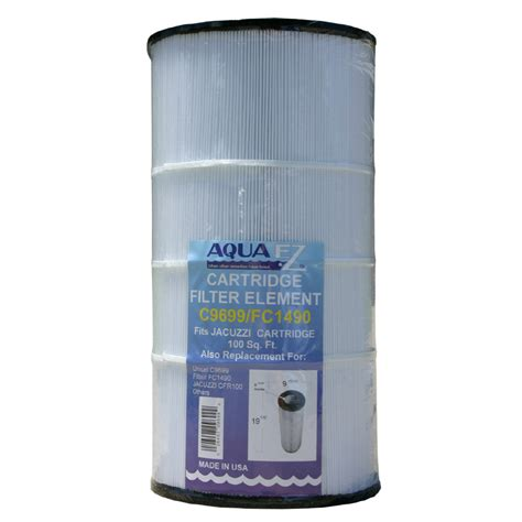 lowes pool filter shop aqua ez 100 sq ft pool cartridge filter at lowes 3894