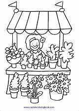 Coloring Pages Grocery Popular sketch template