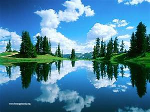 Top Wallpapers HD: Nature Wallpaper - beautyfull lake picture