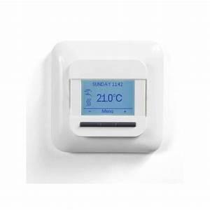 Plancher Rayonnant Electrique : thermostat nrg dm pour plancher rayonnant lectrique ~ Premium-room.com Idées de Décoration