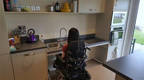 designing  wheelchair accessible kitchen