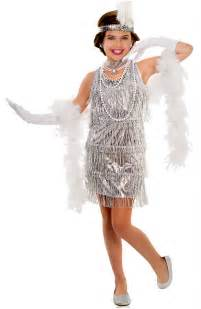 Halloween Wigs Walmart by Child S Silver Dazzling Flapper Dress Costume Candy