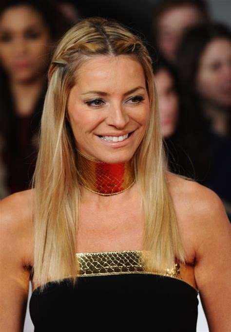 Tess Daly Long Braided Hairstyle - Tess Daly Hair Looks ...