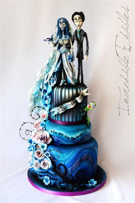 corpse bride wedding cake cake  vickis incredible