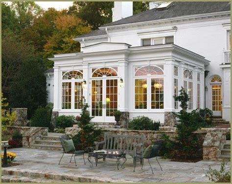 Orangery  White Homes  Pinterest  Sun Room, Sunroom And