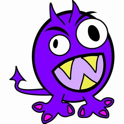 Monsters Monster Clip Clipart Purple Outdoor Summer